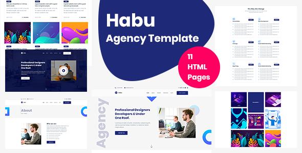 Habu - Creative Agency, Digital Agency Template