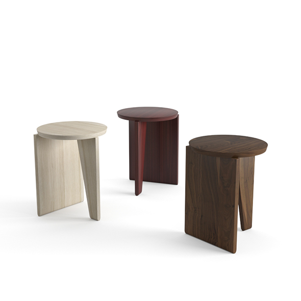 EggCollective Wu Side Table Stool