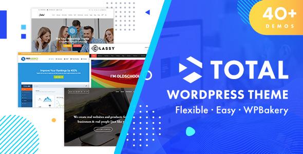 Total - Responsive Multi-Purpose WordPress Theme Nulled