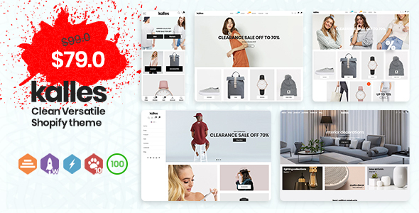 Extraordinary Kalles - Clean, Versatile, Responsive Shopify Theme - RTL support