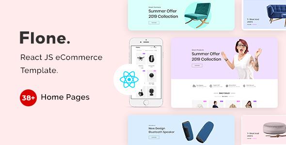 Flone - React JS eCommerce Template