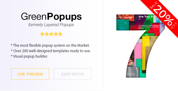 Popup Plugin for WordPress - Green Popups (formerly Layered Popups) Nulled
