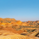 rainbow hilly landscape at dusk in zhangye - PhotoDune Item for Sale