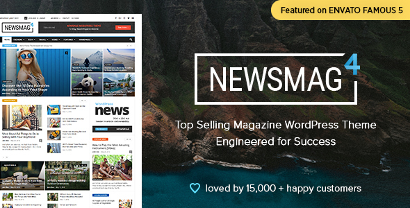 Newsmag - Newspaper & Magazine WordPress Theme