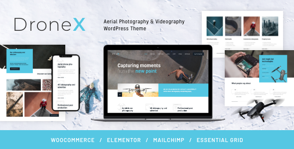 Special DroneX | Aerial Photography & Videography WordPress Theme