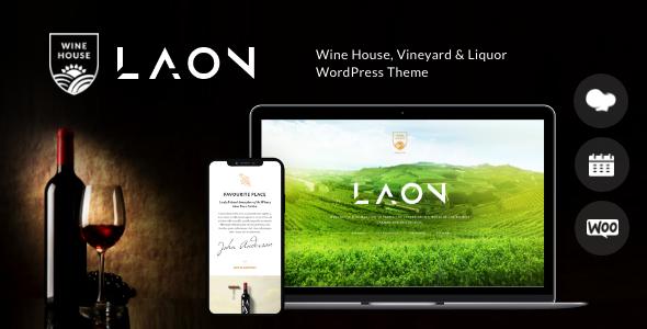 Wondrous Laon | Wine House, Vineyard & Liquor WordPress Theme + Shop