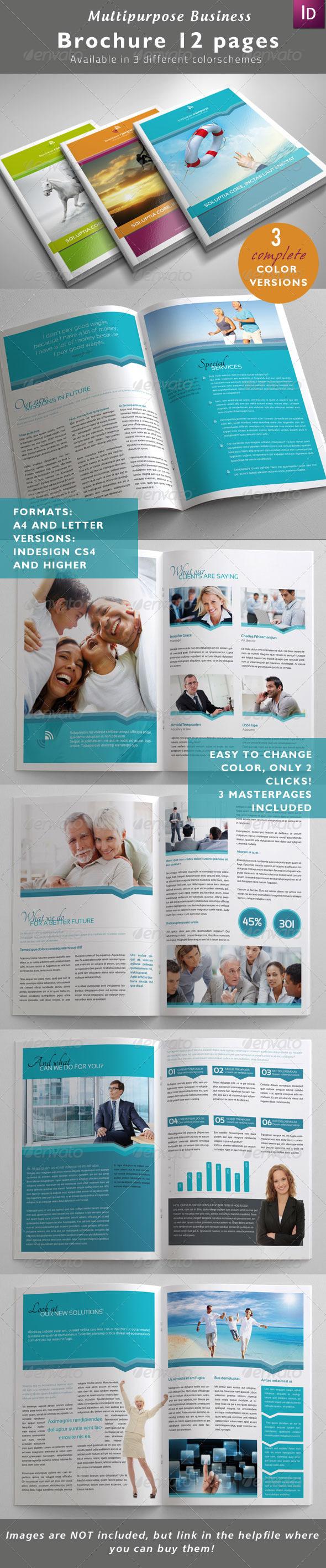 Multipurpose Business Brochure - Corporate Brochures