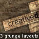 3 Detailed Grunge Backgrounds and Layouts - GraphicRiver Item for Sale
