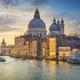 Venice grand canal, Santa Maria della Salute church landmark at sunrise. Italy - PhotoDune Item for Sale