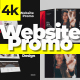 Stylish Website Promo 4K - VideoHive Item for Sale