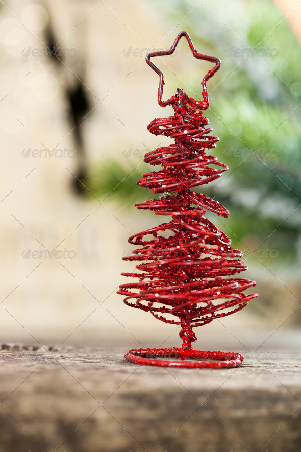 Handmade Christmas decoration - Stock Photo - Images