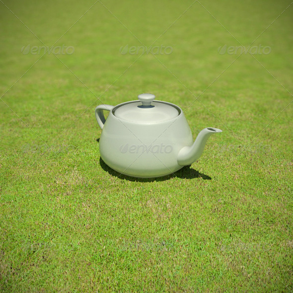 1433 - Grass Short Dry - 3DOcean Item for Sale