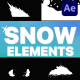 Snowy Elements | After Effects - VideoHive Item for Sale