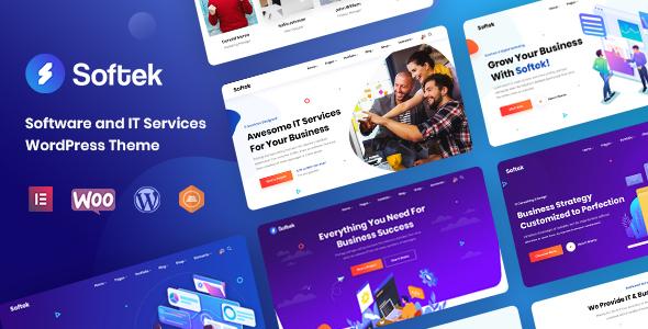 Softek – Software & IT Solutions WordPress Theme
