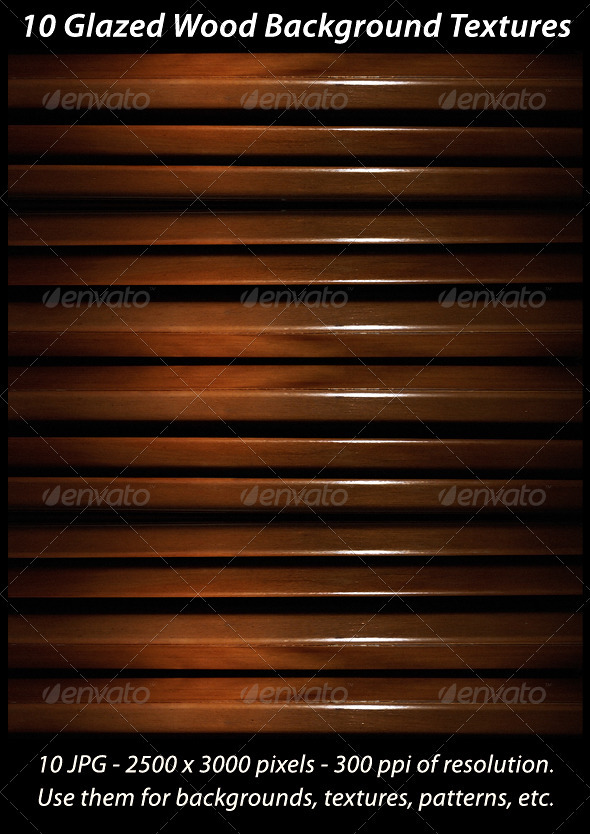 10 Glazed Wood Background Textures - Backgrounds Graphics