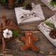 Christmas eco friendly furoshiki gift box - PhotoDune Item for Sale