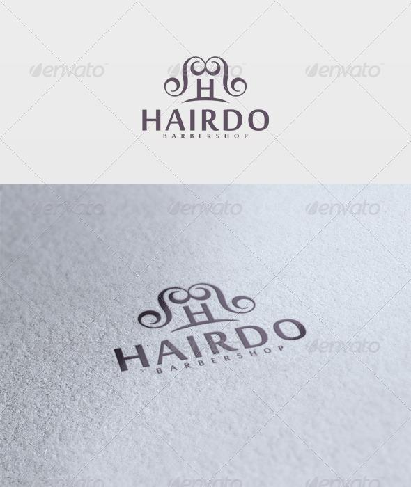 Hairdo Logo - Letters Logo Templates