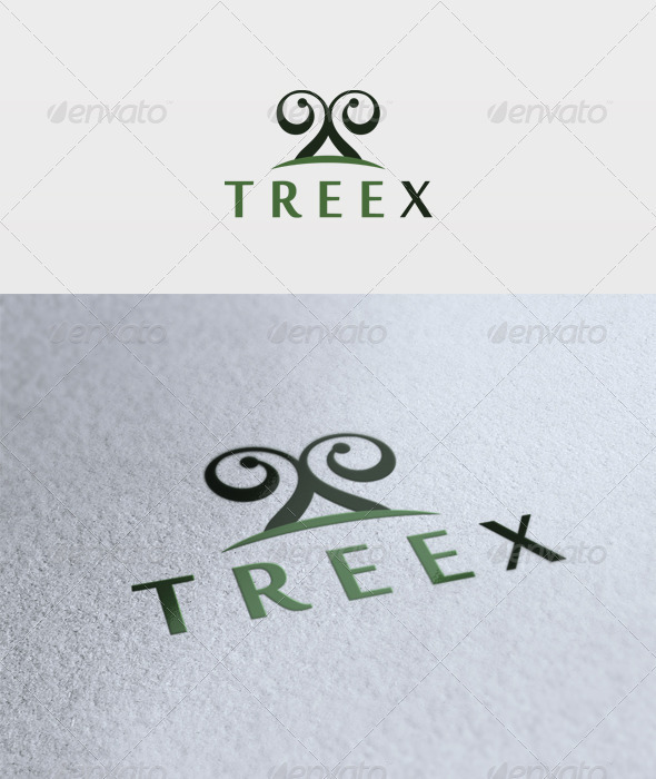 Treex Logo - Letters Logo Templates