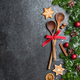 Christmas decoration background. Christmas cooking concept - PhotoDune Item for Sale