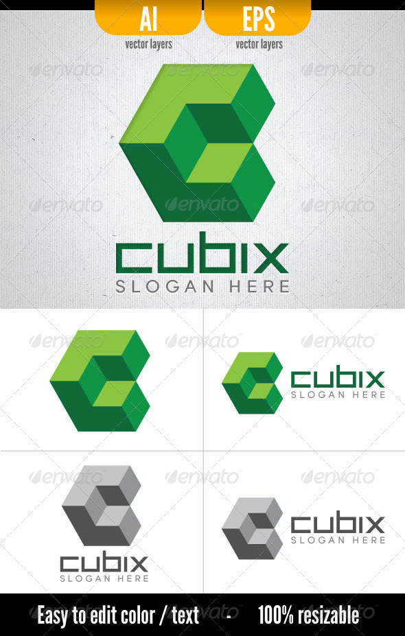 Cubix - Vector Abstract