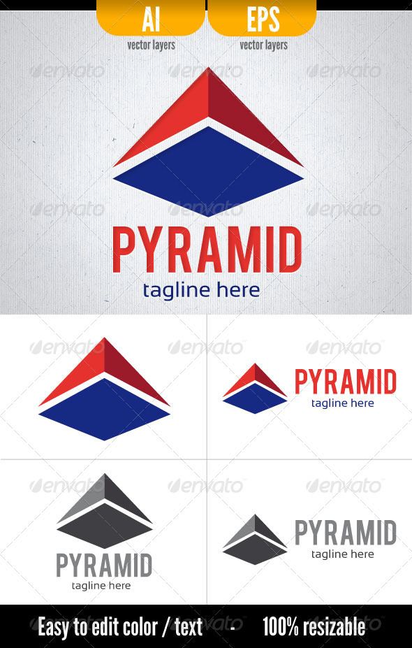 Pyramid - Vector Abstract