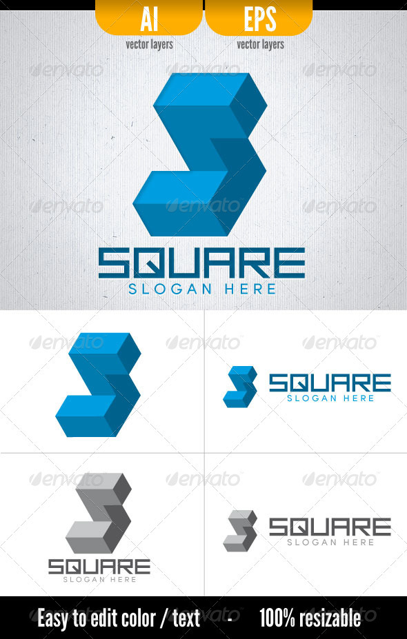 Square - Vector Abstract