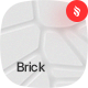 Brick - White Voronoi Background Set