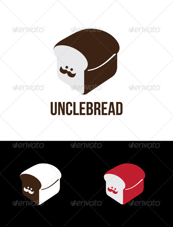 Unclebread - Food Logo Templates