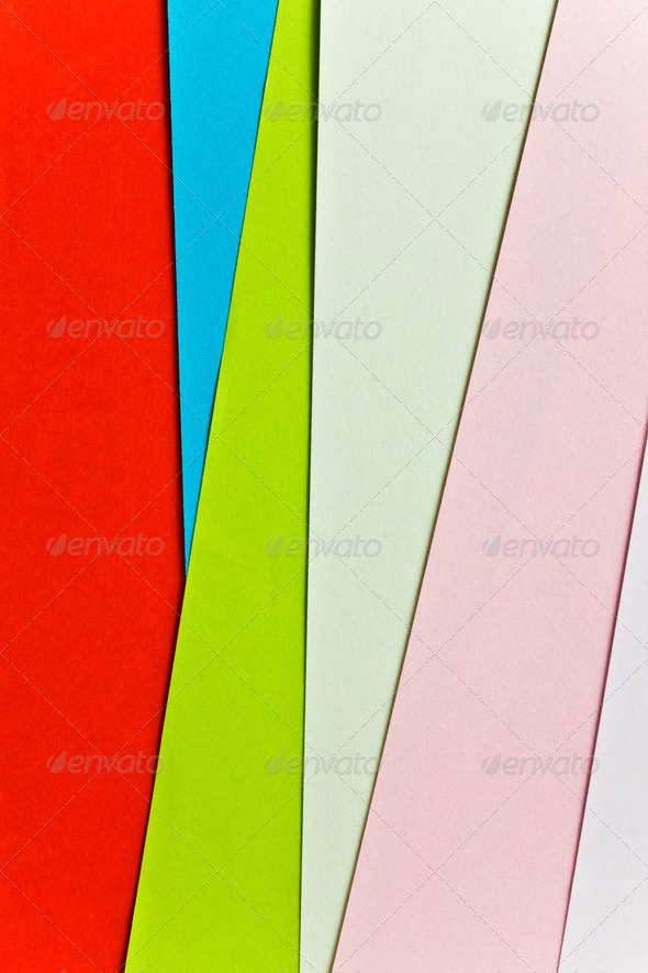 colorful sheets paper - Stock Photo - Images