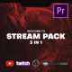 Stream Gaming Pack for Premiere Pro - VideoHive Item for Sale