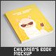 Portrait Children's Book Mock-Up