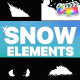 Snowy Elements | FCPX