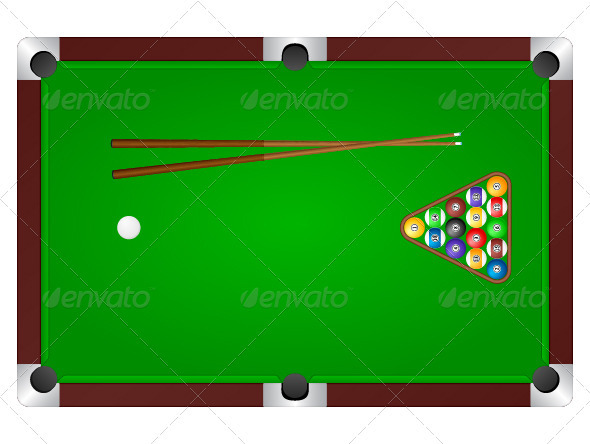 Pool table - Sports/Activity Conceptual