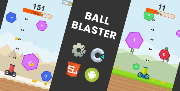 Ball Blaster - HTML5 Game | Construct 2 + Construct 3