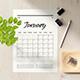 Minimal Calendar Planner 2021