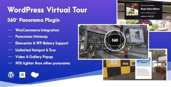WordPress Virtual Tour 360 Panorama Plugin