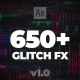 650+ Glitch Elements - VideoHive Item for Sale