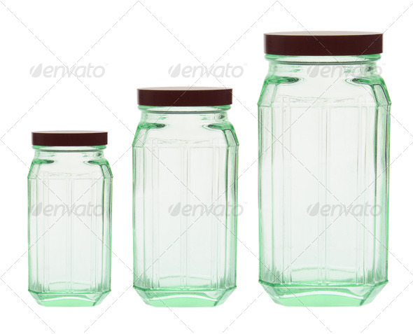 Glass Bottles - Stock Photo - Images