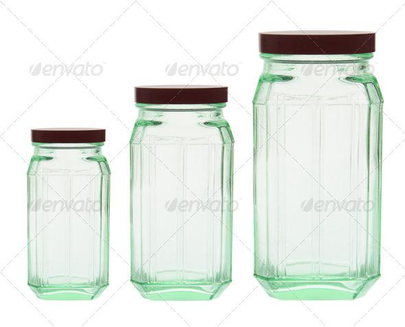 Glass Bottles - Stock Photo - Images