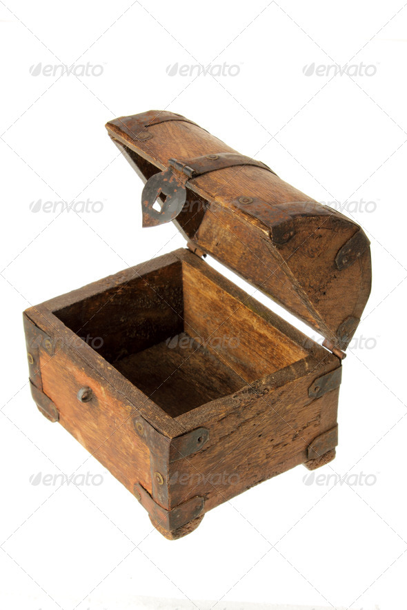 Old Treasure Box - Stock Photo - Images