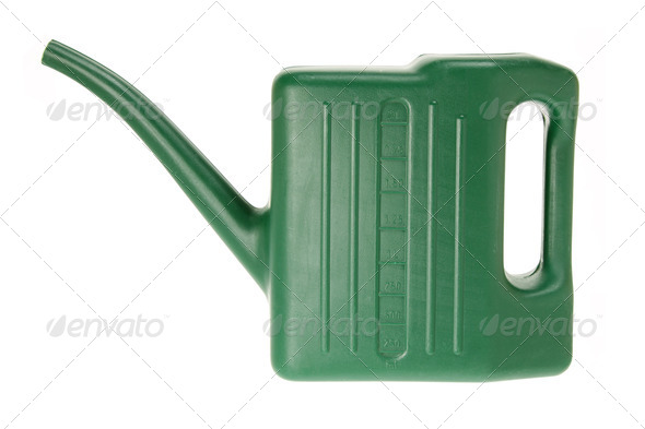 Toy Watering Can - Stock Photo - Images