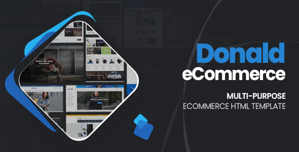 Donald – Ultimate eCommerce HTML Template