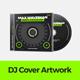 DJ Music Cover Artwork Template for CD / Digital Releases