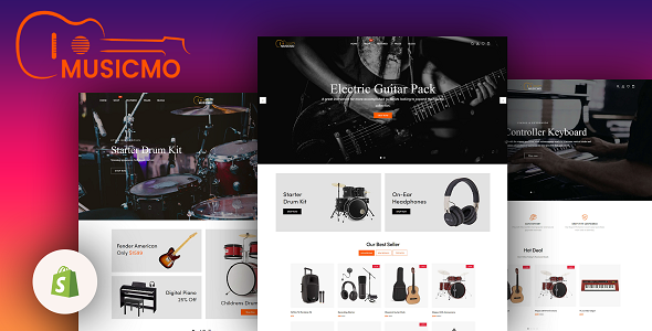 Musicmo - Musical Instruments Shop Shopify Theme