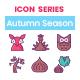 85 Autumn Season Icons | Crayons Series