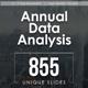 Annual Data Report Keynote Templates Bundle