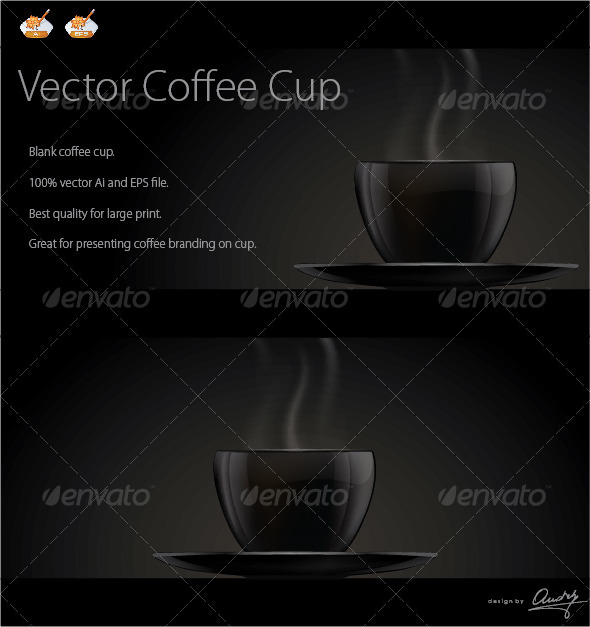 Coffee Cup Vector - Man-made Objects Objects