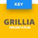 Grillia - Restaurant Keynote Template