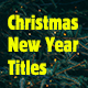 Christmas & New Year Titles - VideoHive Item for Sale