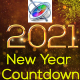 New Year Countdown 2021 - Apple Motion